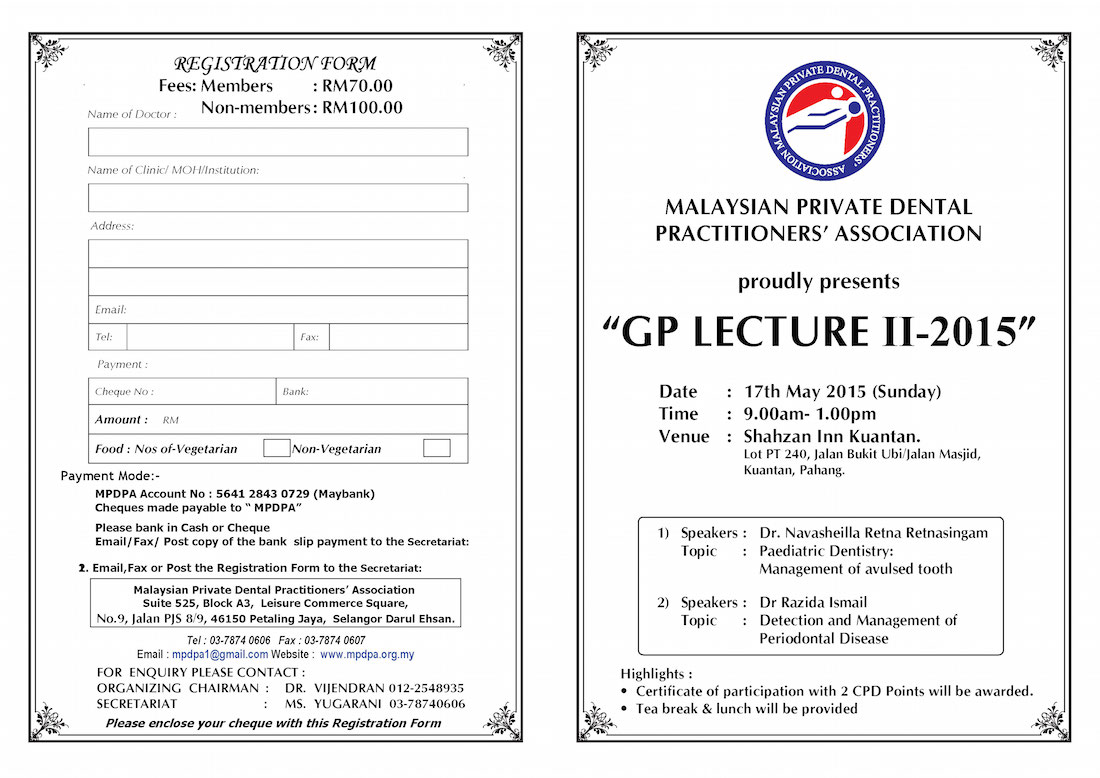 GP-lecture-II-2015-MPDPA-dentistsnearby1
