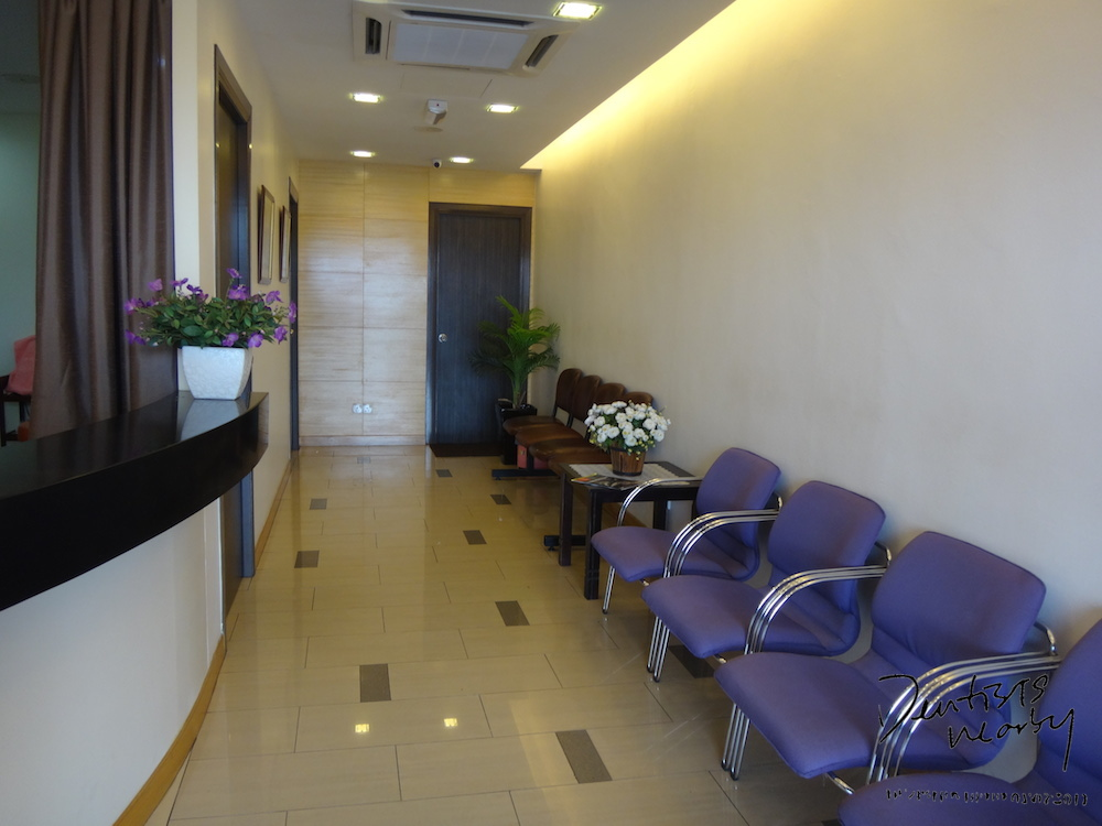 Interior fernandez klang dental surgery reception area