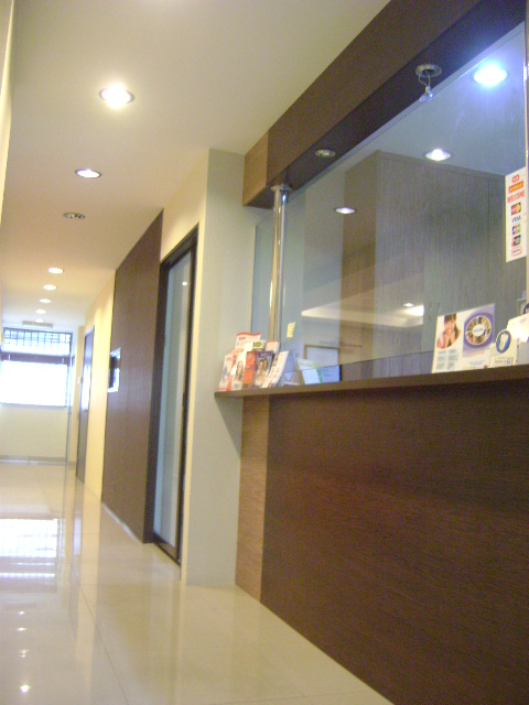 Reception-Counter