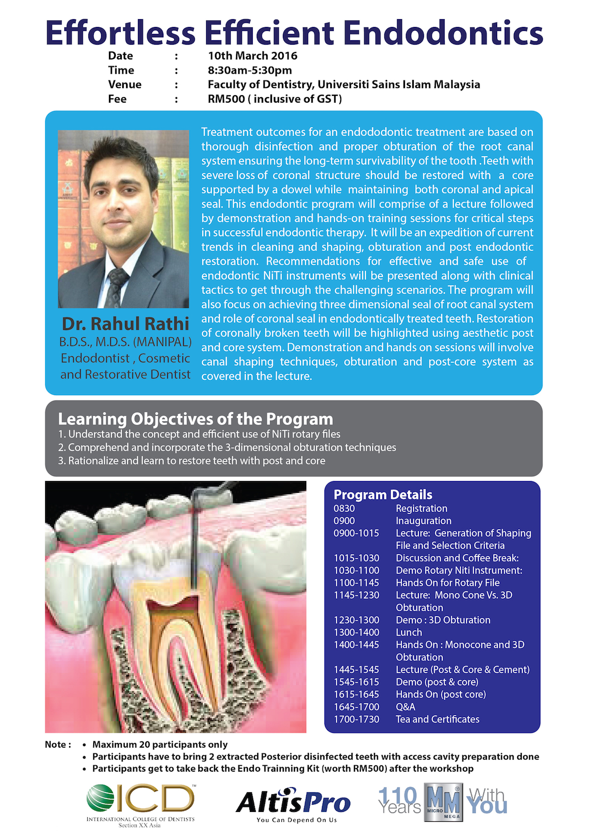 ICD-endodontic-workshop