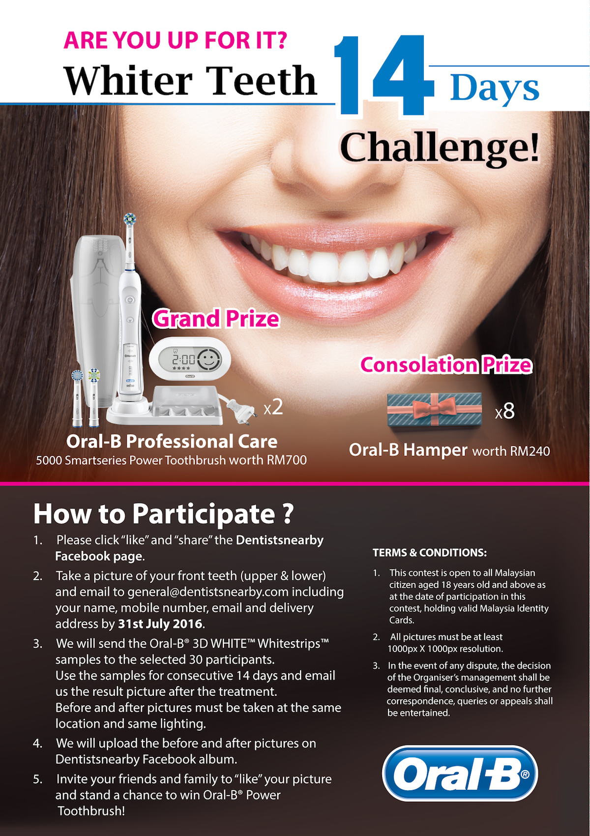 Dentistsnearby-oral-b-Contest