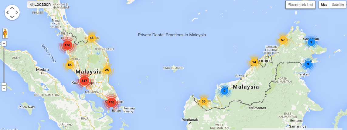 number-of-private-dental-clinics-in-malaysia